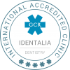 Identalia GCR Accredited badge