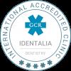 Identalia GCR Accredited badge